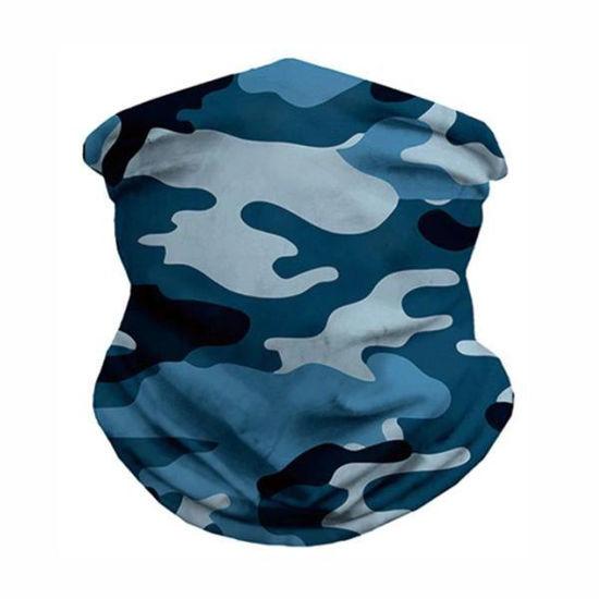 Gaiter Bandana-Blue Camo