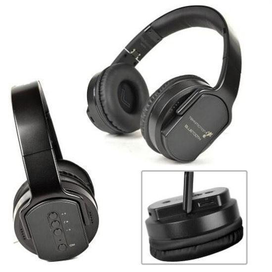 Teknmotion Flipsoundz 2In1 Bluetooth Headset/Speaker -Black