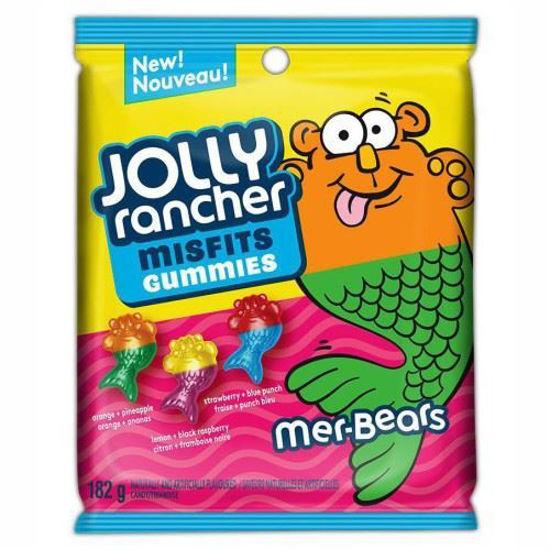 Jolly Rancher Misfits Mer-Bear Gummies - 182G