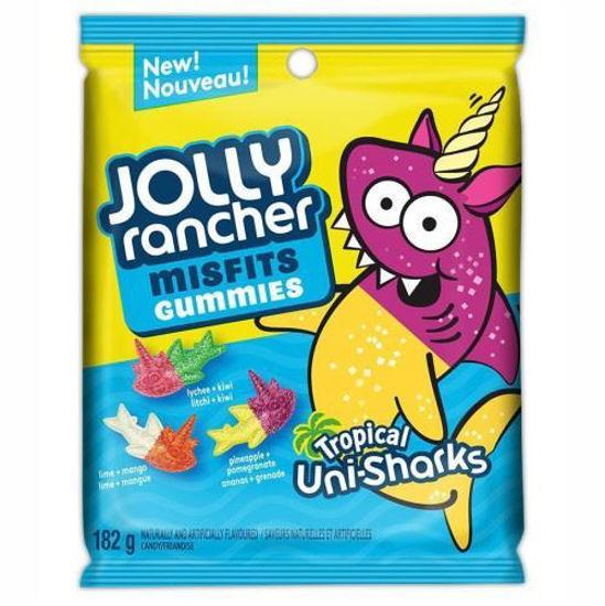 Jolly Rancher Misfits Tropical Shark Gummies - 182G