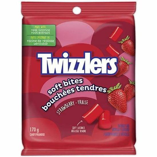 Twizzlers Soft Bites Strawberry - 170G