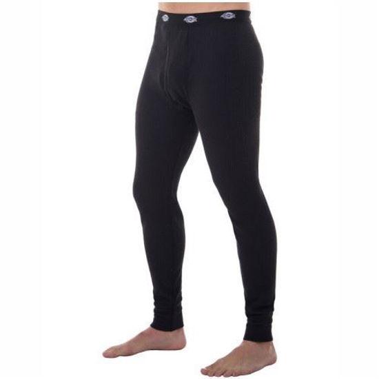 Dickies Mens Thermal Bottoms - Black - L