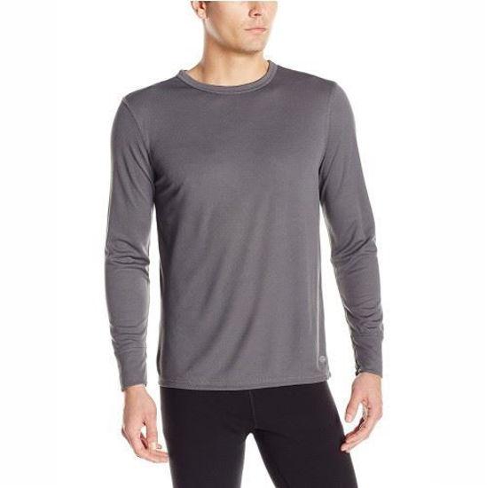 Dickies Mens Thermal Tech Mesh Top - Grey - M