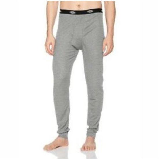Dickies Mens Thermal Interlock Bottoms - Grey-Xl