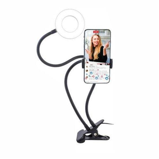"Finelife 3.5"" Ring Light Live Streaming Kit W/ Phone Holder"