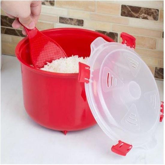 Home Basics Microwave Rice Cooker