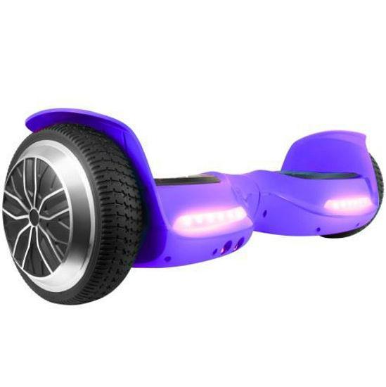 Xprit T67se Hoverboard W/Bluetooth Speakers -Purple