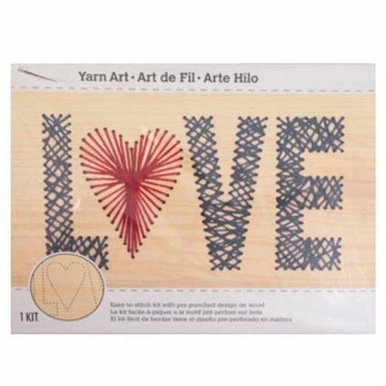 Yarn Art Craft Kit - Love