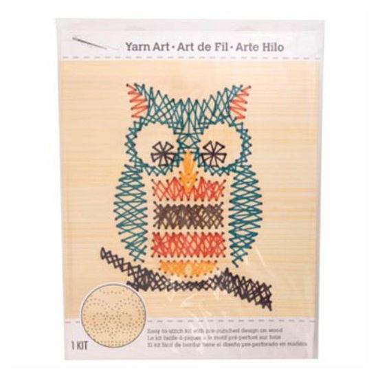 Yarn Art Craft Kit - Owl