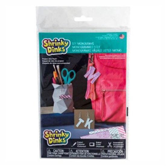 Shrinky Dinks Diy Monogram Accessories Kit