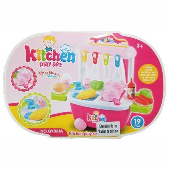 Trolley Kitchen Play Set