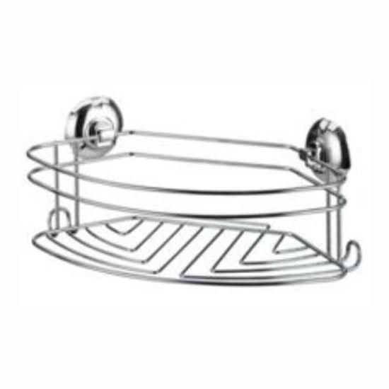 Large Sink/Shower Storage Basket W/ Suction