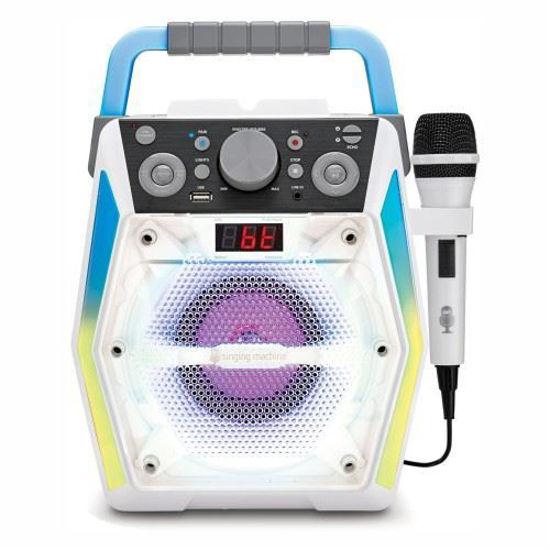 The Singing Machine Sml2200 Glow Bluetooth Karaoke Machine