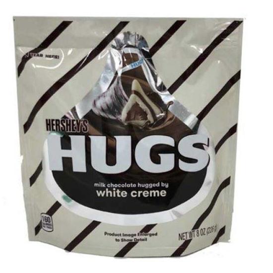 Hershey's Hugs - Milk Chocolate & White Cream