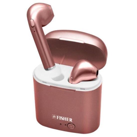 Fisher Roam Pro True Wireless Earbuds -Rose Gold