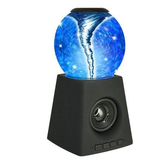 Tornado Speaker With Color Changing Light