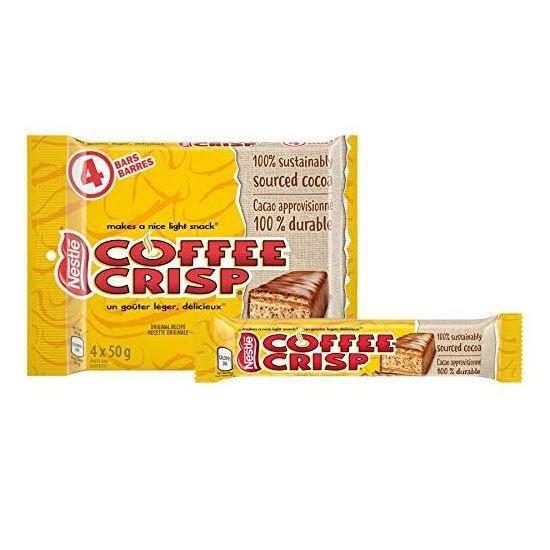 Coffee Crisp 4 Pack - 4 X 50G