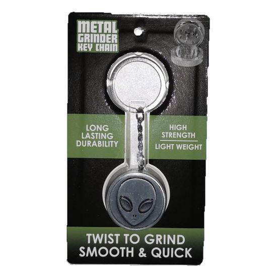 Mini Grinder Keychain Tool