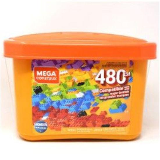 Mega Construx 480 Pc Tub