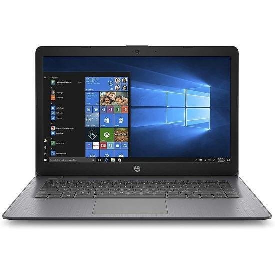 "Hp Laptop Cel.N4000 1.1+ Dc 4Gb/64Gb/14""/W10h -Black"