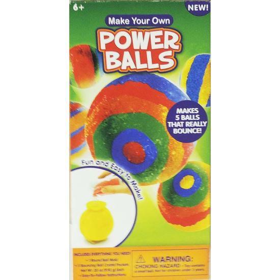 Do It Yourself Super Bouncy Powerballs