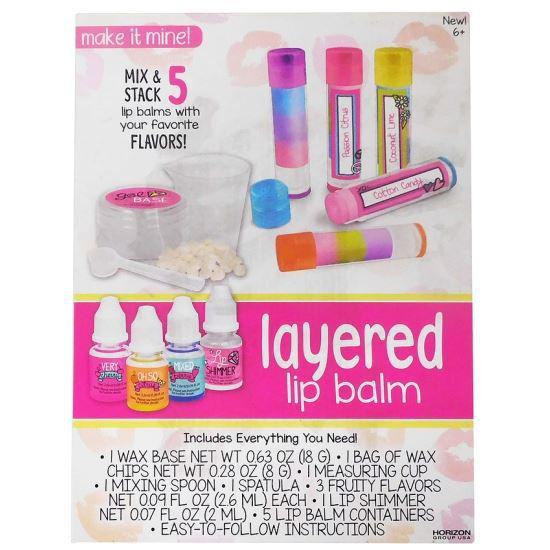 Do It Yourself Layered Lip Balm