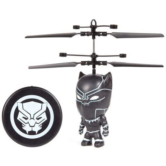 Black Panther Big Head Flying Figure Rc Heliball - 4'