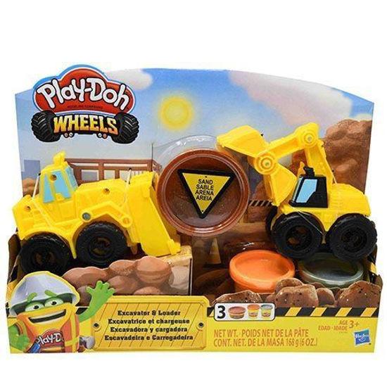 Play-Doh Wheels Excavator & Loader Play Set