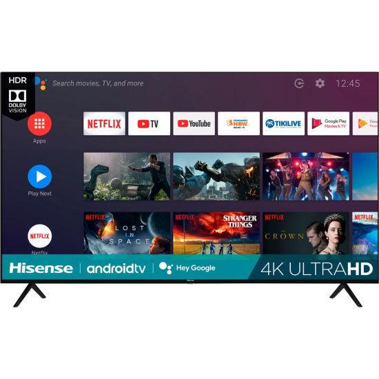 """Hisense 75H6570 75"""" 4K Uhd Hdr Android Led Tv"""