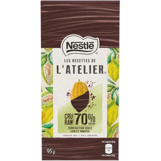 L'atelier 70% Raw Cacao Dark Chocolate - 95G
