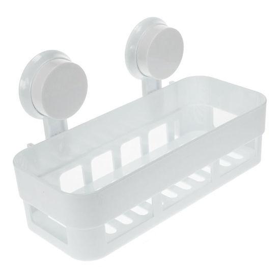 Bodico Bathroom & Kitchen Shelf With Suction