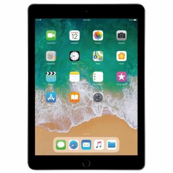 "Apple Ipad (6Th Gen) 128Gb ""B"" Wifi Tablet (Space Grey)"