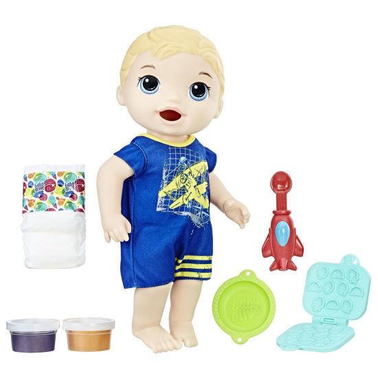 Hasbro Baby Alive Snackin' Luke - Blonde
