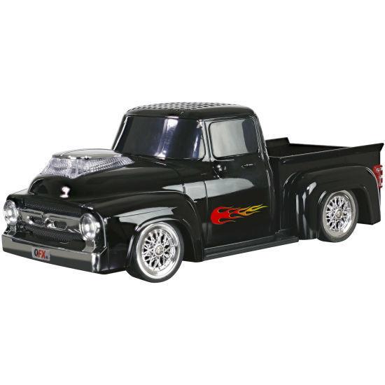 Qfx Bt-1956 Tws Hotrod Pickup Truck Bluetooth Speaker -Black