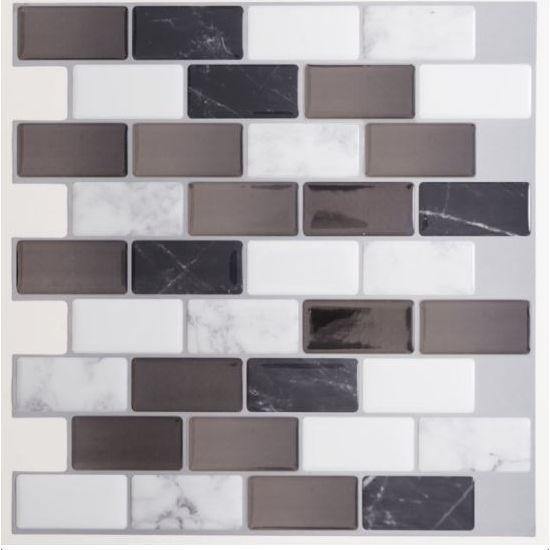Magic Gel Tiles Self-Adhesive Wall Tile - 1Pk