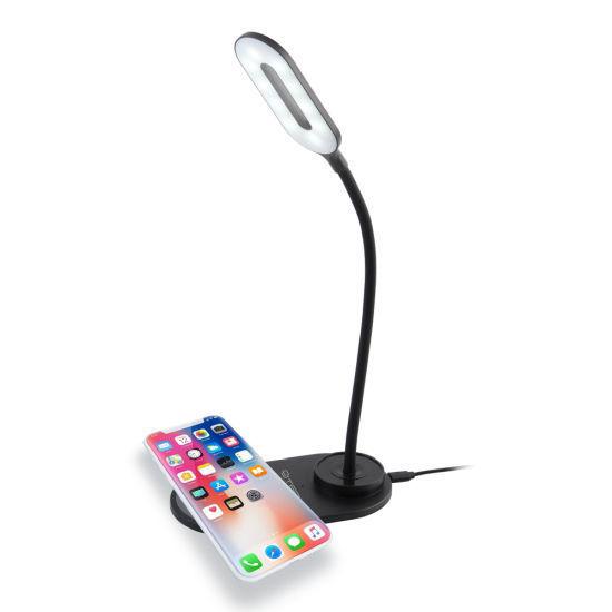 Cjtech Led Desk Lamp W/ Wireless Qi Charger