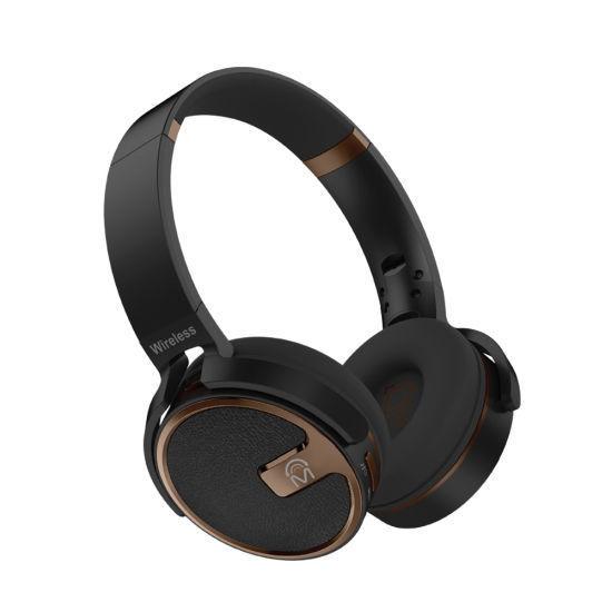 Mental Beats X5s Bluetooth Dj Headphones W/Tf Slot /Fm -Blac