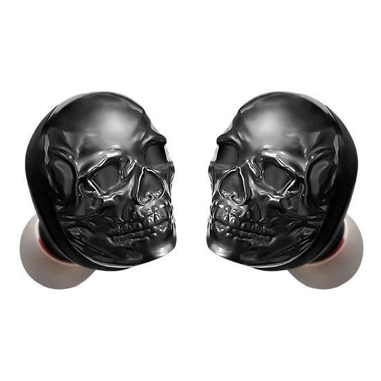 Fisher Skully Sound True Wireless Earbuds W/Voice Asst -Blac