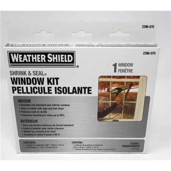 """Weather Sheild Window Kit 42"""" X 62"""""""