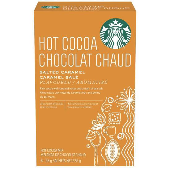 Starbucks Hot Cocoa Salted Caramel - 8Ct