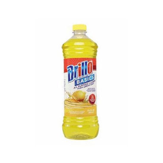 Brillo All Purpose Floor Cleaner Lemon - 828Ml