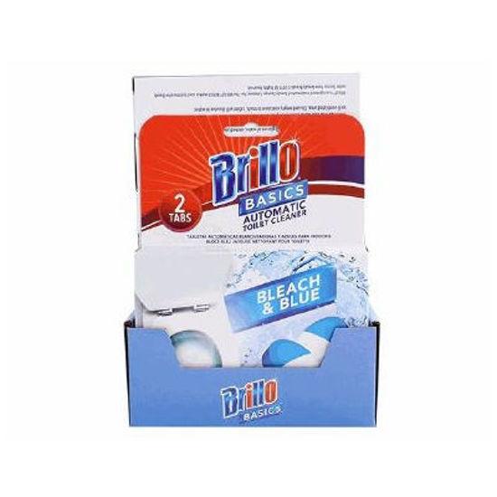 Brillo Toilet Bowl Bleach&Blue Tabs - 2 Tablets