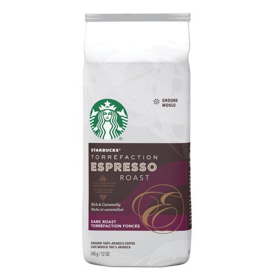 Starbucks Espresso Dark Roast Ground Coffee - 340G