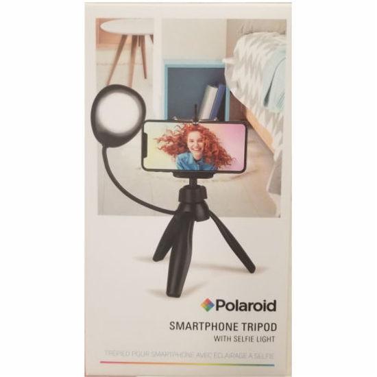 Polaroid Selfie Tripod With Ring Light