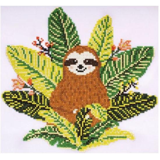 Diamond Art Painting Intermediate Kit - Sloth