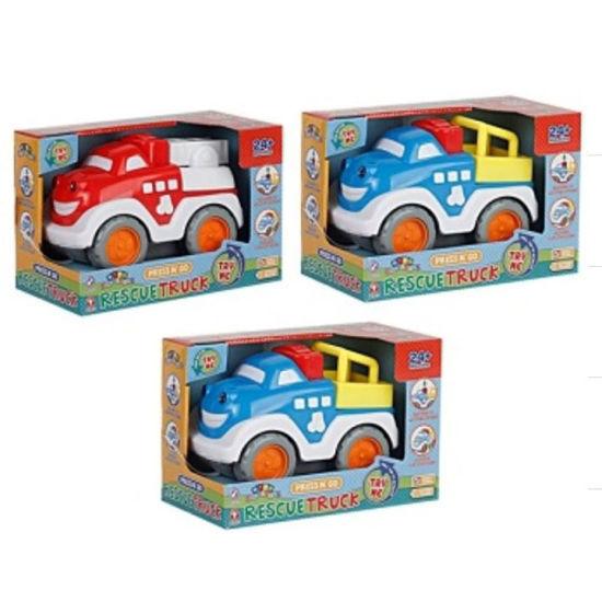 Press & Go Rescue Truck - Assorted