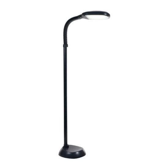 Floor Led Lamp 1250 Lumens -Black
