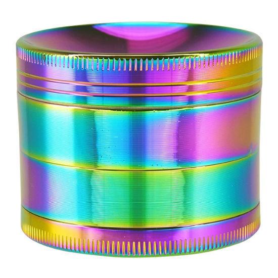 Smokezilla Metal Grinder - Rainbow