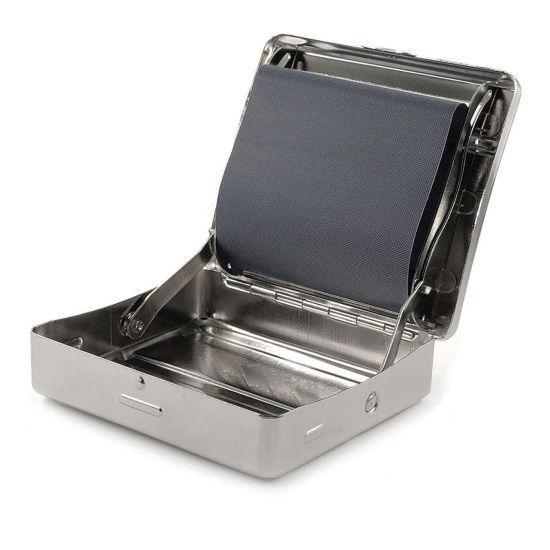 Metal Cig Roller Case With Storage