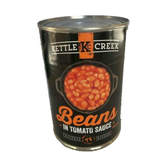 Kettle Creek Beans In Tomato Sauce, 398Ml